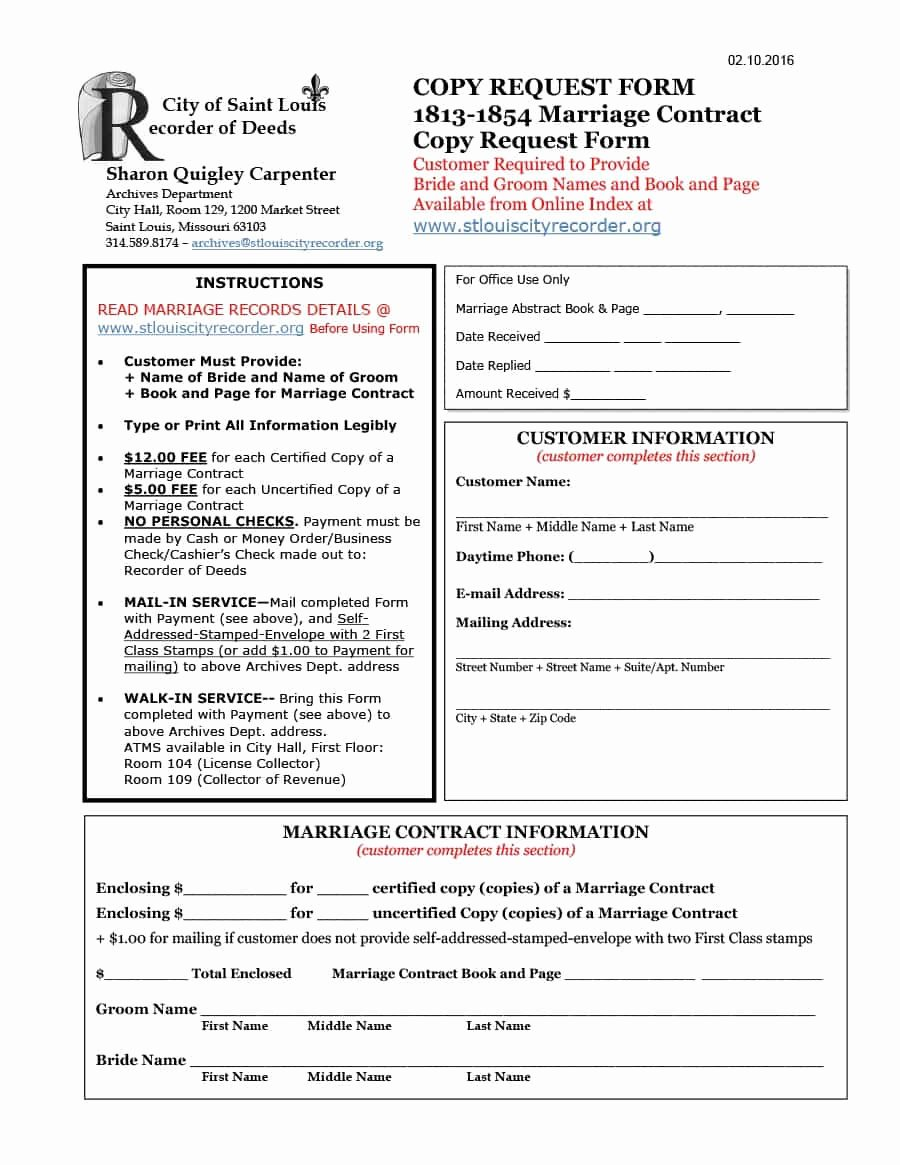Islamic Marriage Contract Template Inspirational 33 Marriage Contract Templates [standart islamic Jewish