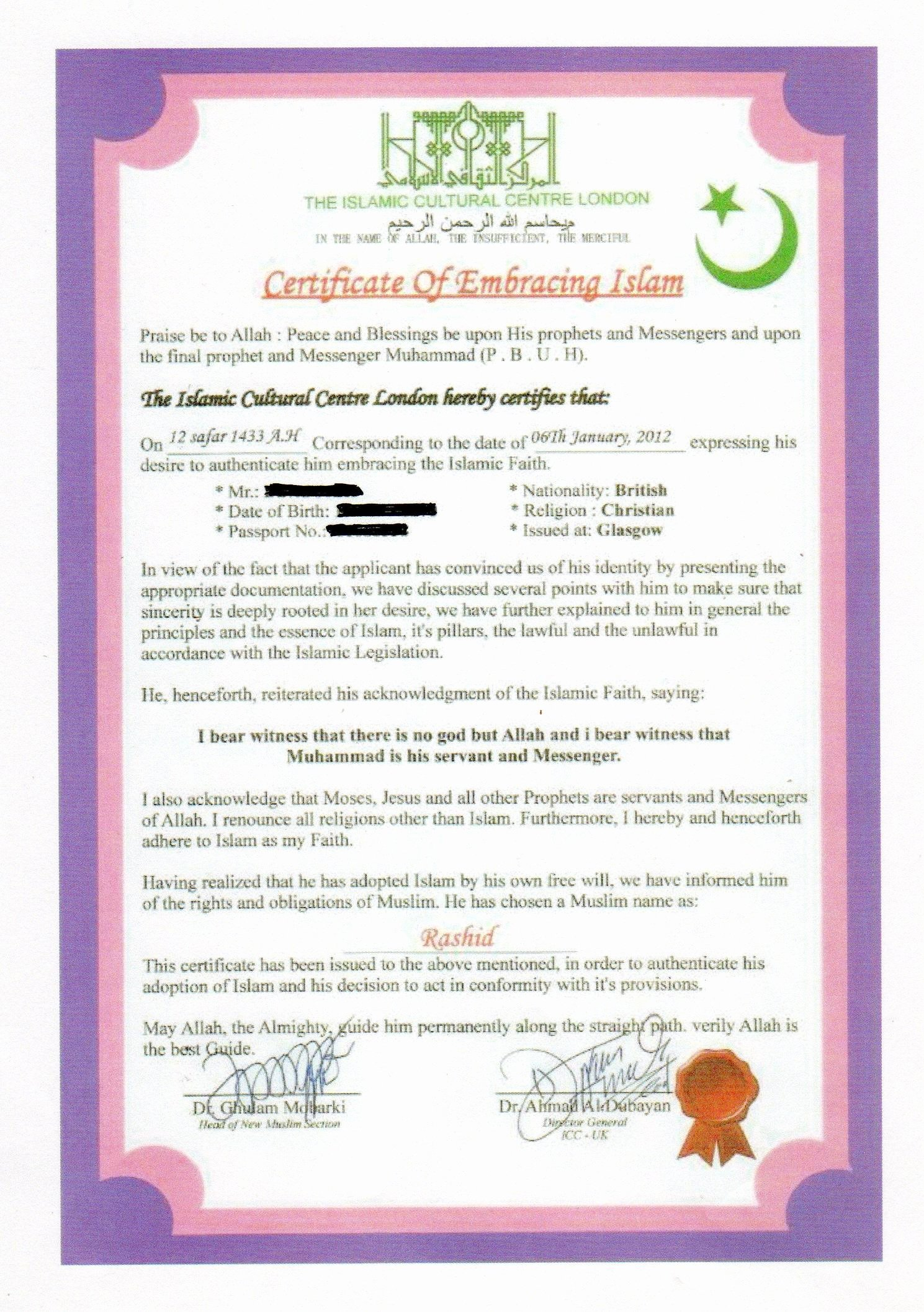 """Islamic Marriage Contract Template Inspirational Visas What are the Necessary Contents Of An """"islamic"""
