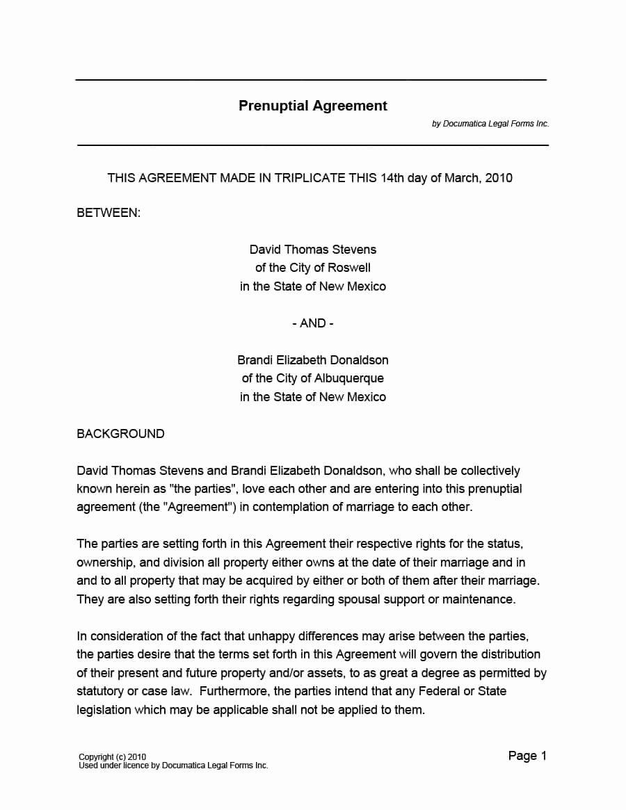 Islamic Marriage Contract Template Unique 33 Marriage Contract Templates [standart islamic Jewish