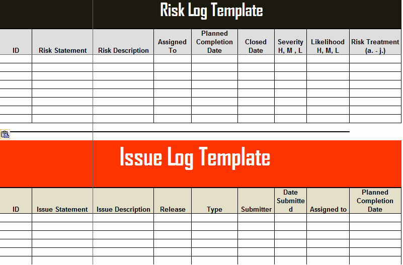 Issue Tracking Template Excel Elegant Open Items issues Log Tracking Template Microsoft Excel