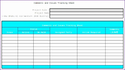 Issue Tracking Template Excel Inspirational 12 issue Tracking Spreadsheet Template Excel