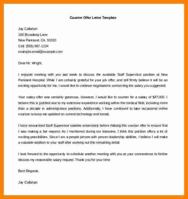 Job Offer Letter Template Word Elegant 5 Job Offer Letter Template Word