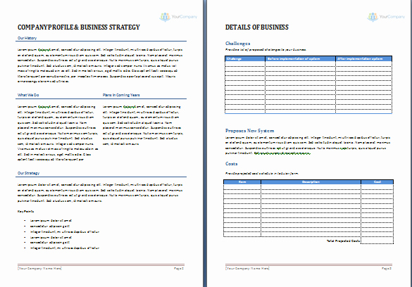 Job Proposal Template Free Word New Proposal Template Word