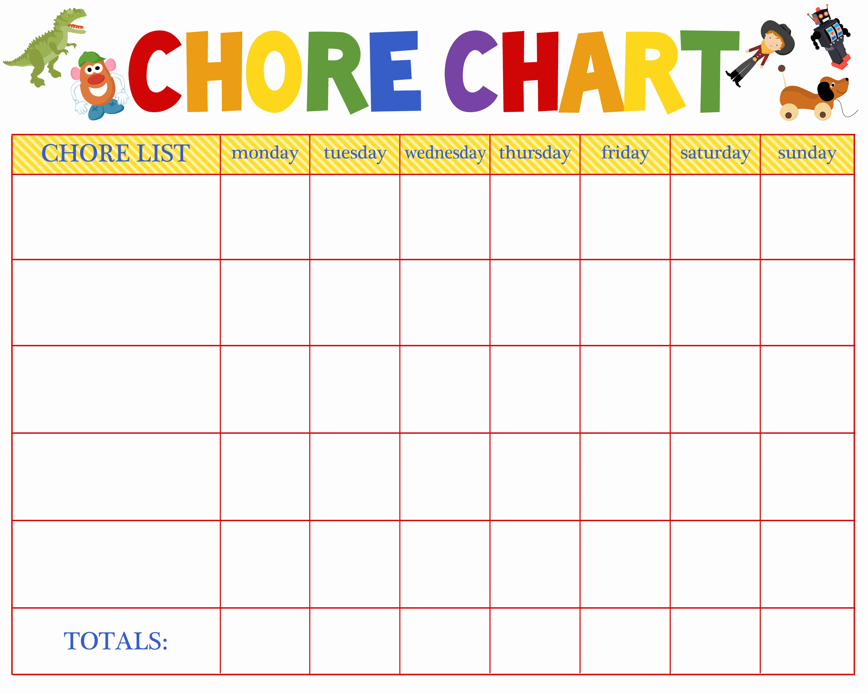 Kids Chore Chart Templates New Free Behavioral Aid Printables Jumping Jax Designs