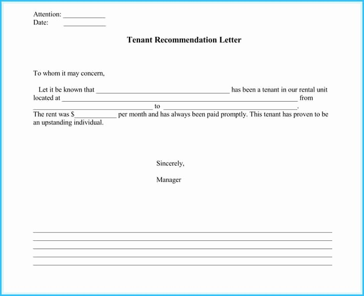 Landlord Reference Letter Template Best Of Landlord Reference Letter 5 Samples What is It & How