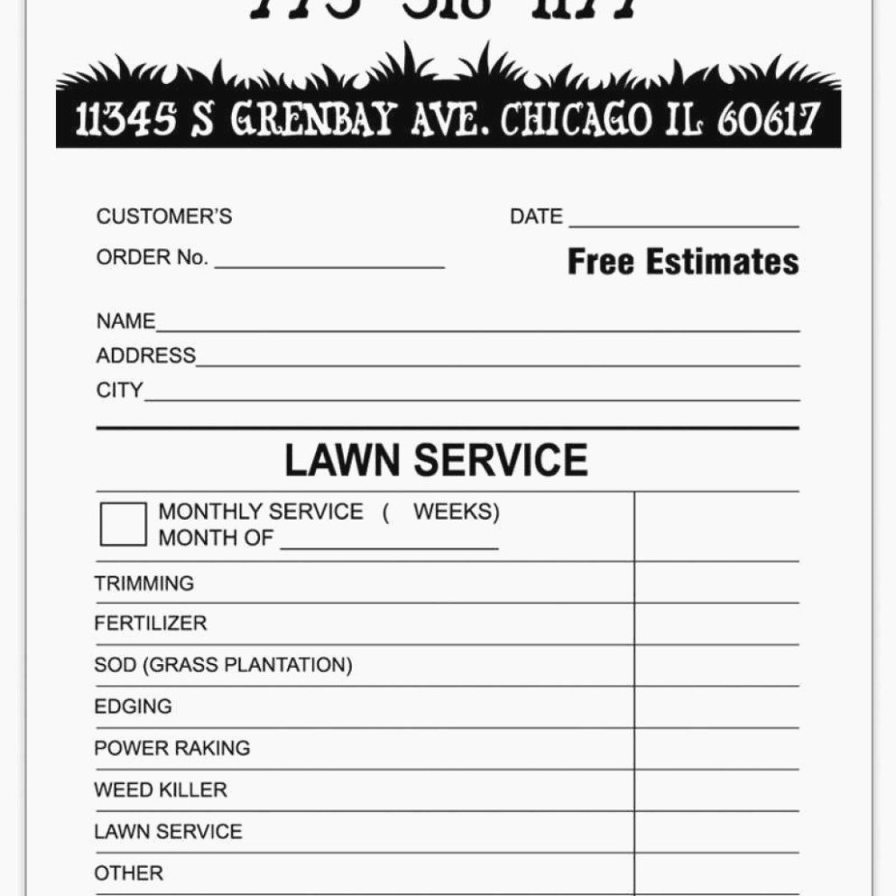 Lawn Care Invoice Template Fresh 15 Small but Important