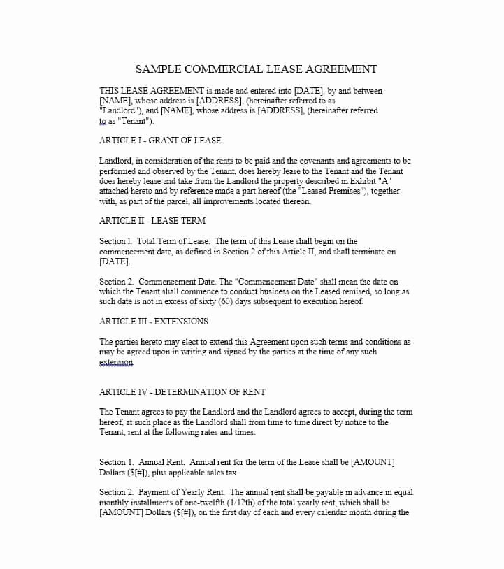 Lease Termination Agreement Template Free Elegant 26 Free Mercial Lease Agreement Templates Template Lab