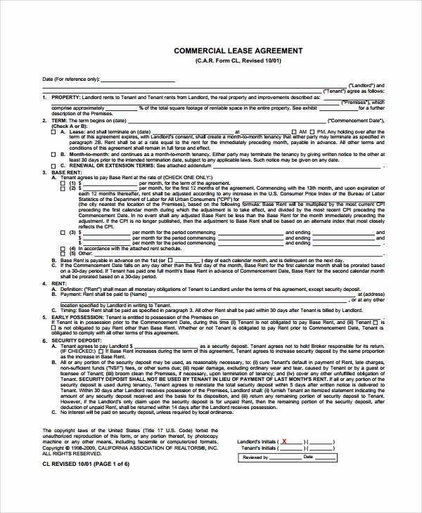 Lease Termination Agreement Template Free Inspirational 8 Sample Mercial Lease Termination Agreements Word