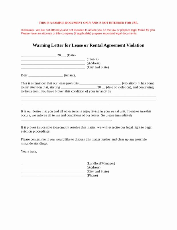 Lease Termination Agreement Template Free Lovely Notice Lease Termination Letter From Landlord to Tenant