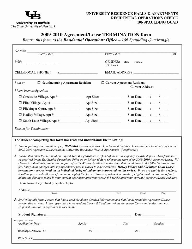 Lease Termination Agreement Template Free New Lease Termination forms by Jessicaderusso Termination Of