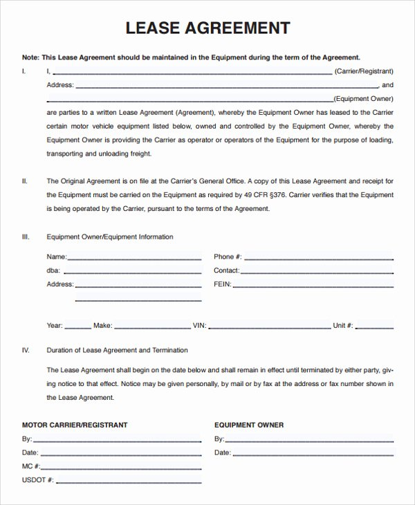 Lease Termination Agreement Template Free Unique Lease Agreement Template Seven – Every Last Template