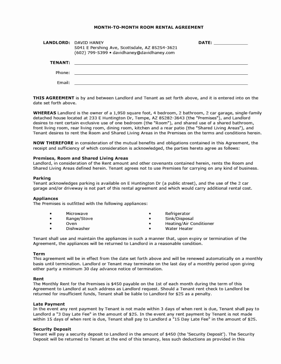 Lease Termination Agreement Template New Month to Month Lease Termination Letter Template