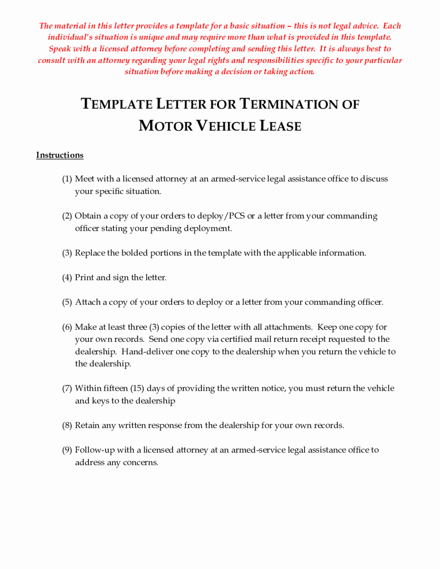 Lease Termination Letter Template Luxury 2019 Lease Termination form Fillable Printable Pdf