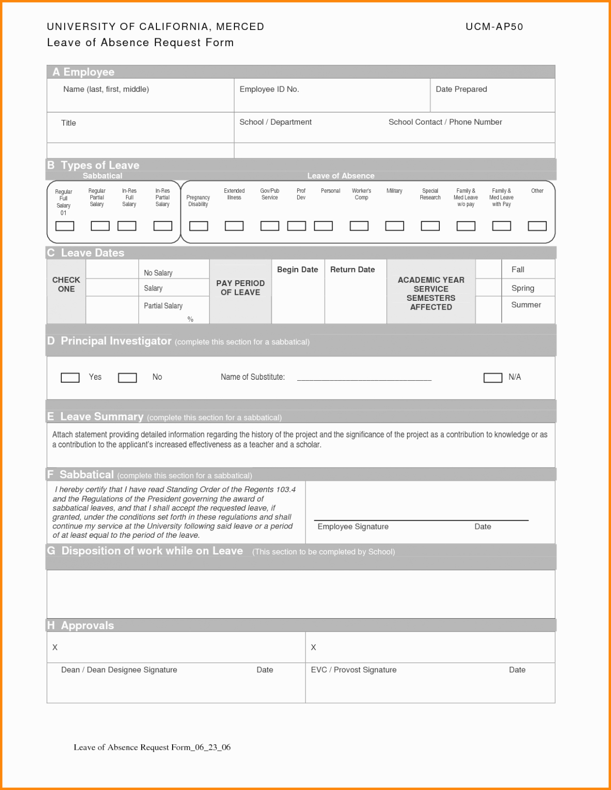 Leave Of Absence form Template New All You Need to Know About Employee Absence