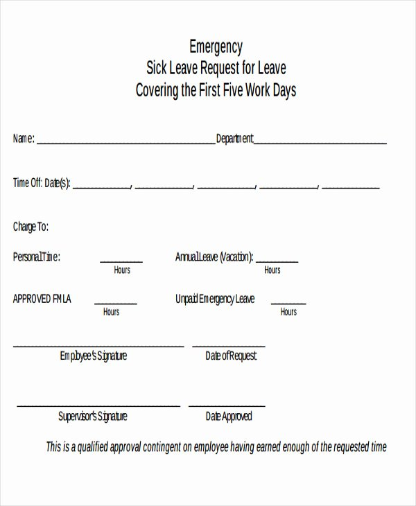 Leave Request form Template Awesome 5 Leave Application E Mail Templates Free Psd Eps Ai