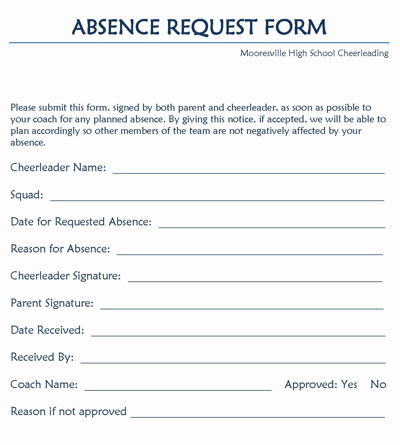 Leave Request forms Templates New 12 Example Of Leave Of Absence