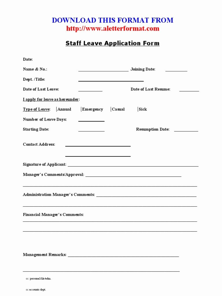 Leave Request forms Templates Unique Family Emergency Leave Matthewgates forms Template