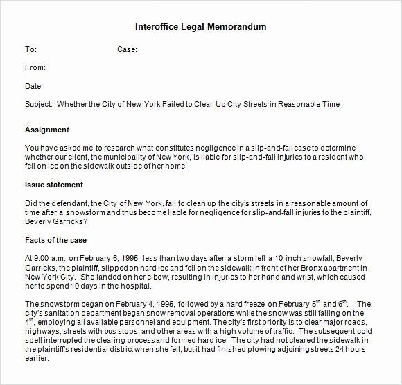 Legal Memorandum Template Word Best Of Free 6 Sample Interoffice Memo Templates In Google Docs