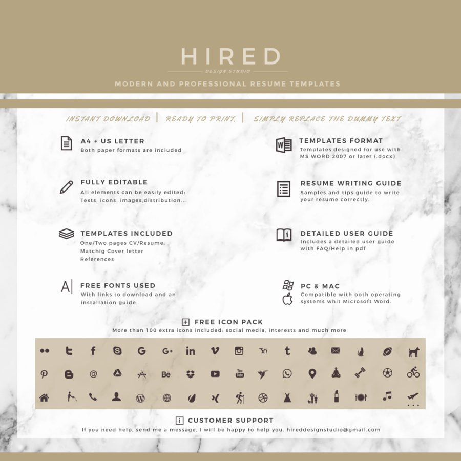 """Legal Resume Template Word Elegant Legal Resume Template for Ms Word """"madison"""" Hired"""