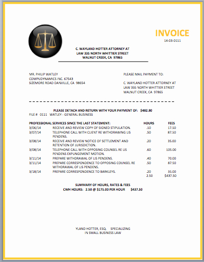 Legal Resume Template Word Fresh Legal attorney Invoice Template Invoice
