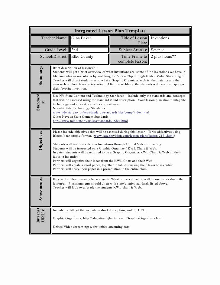 Lesson Plan Template Doc Beautiful Blended Learning Lesson Plan Template Doc – Weekly Lesson