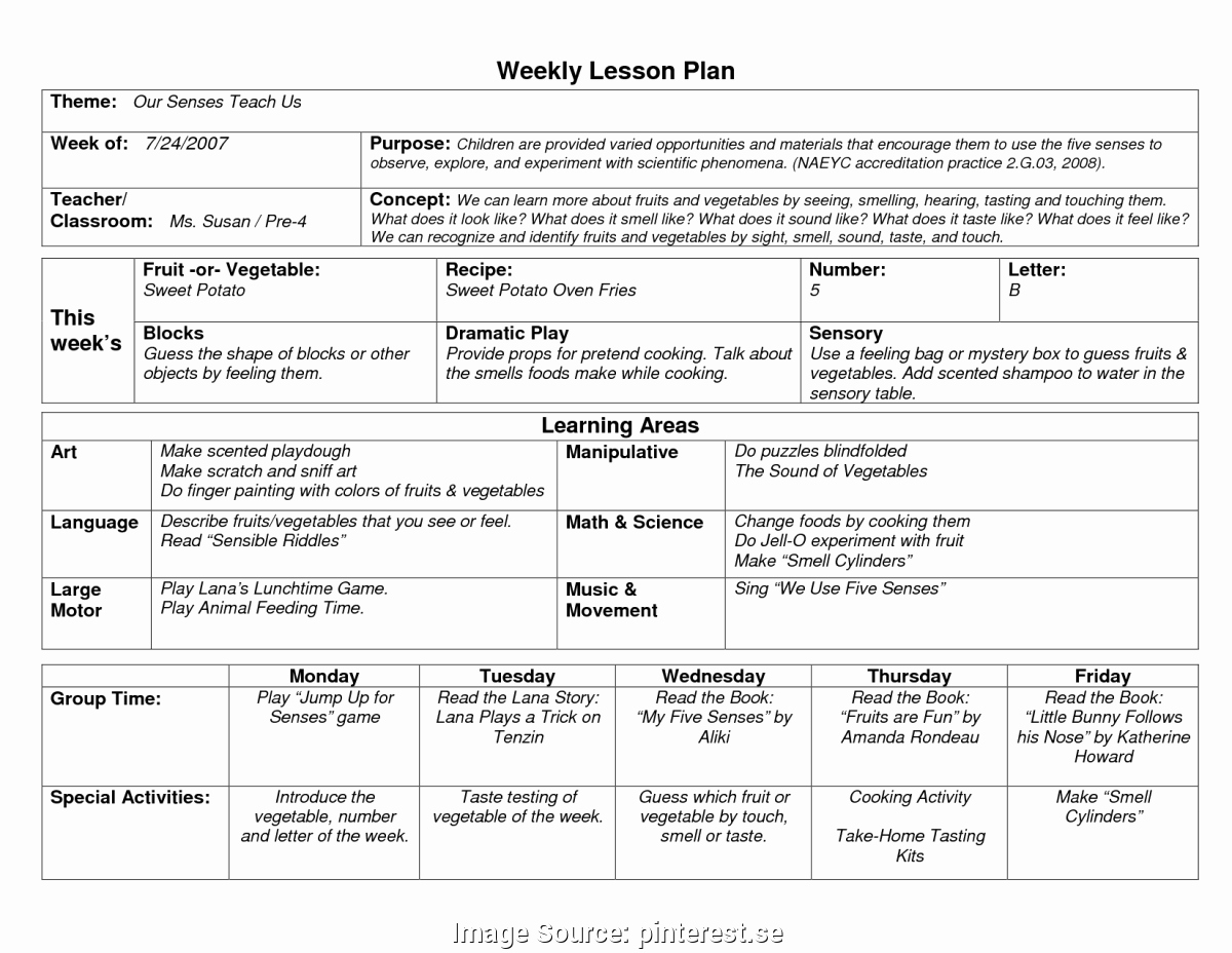 Lesson Plans Template for toddlers Best Of Trending Naeyc Lesson Plans for toddlers Naeyc Lesson Plan
