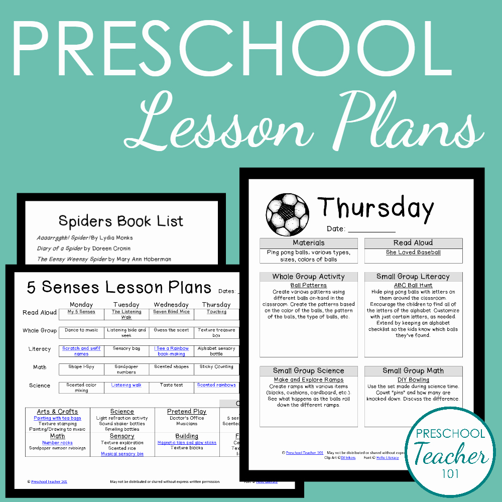 Lesson Plans Templates for Preschool Inspirational Preschool Teacher 101 Membership Preschool Teacher 101