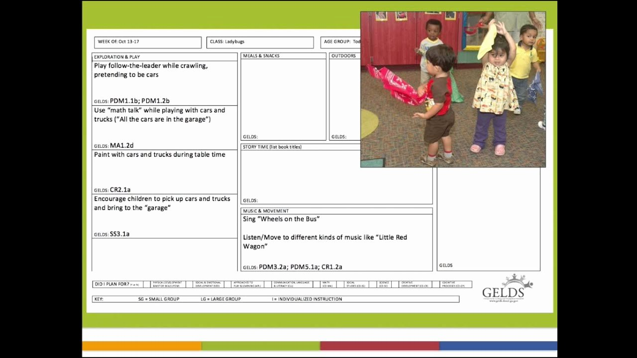 Lesson Plans Templates for toddlers Awesome toddler Lesson Planning Podcast