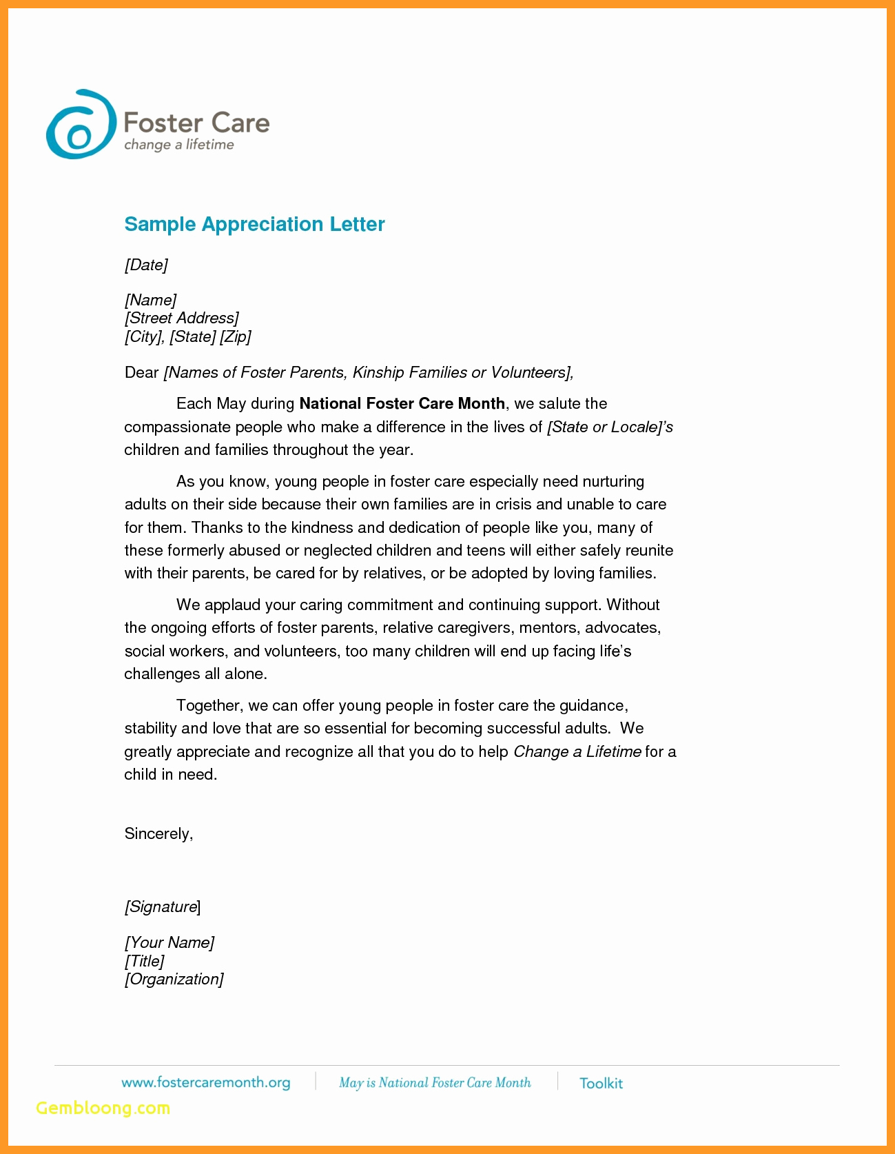 Letter Of Appreciation Template Fresh 12 13 How to Write A Recognition Letter