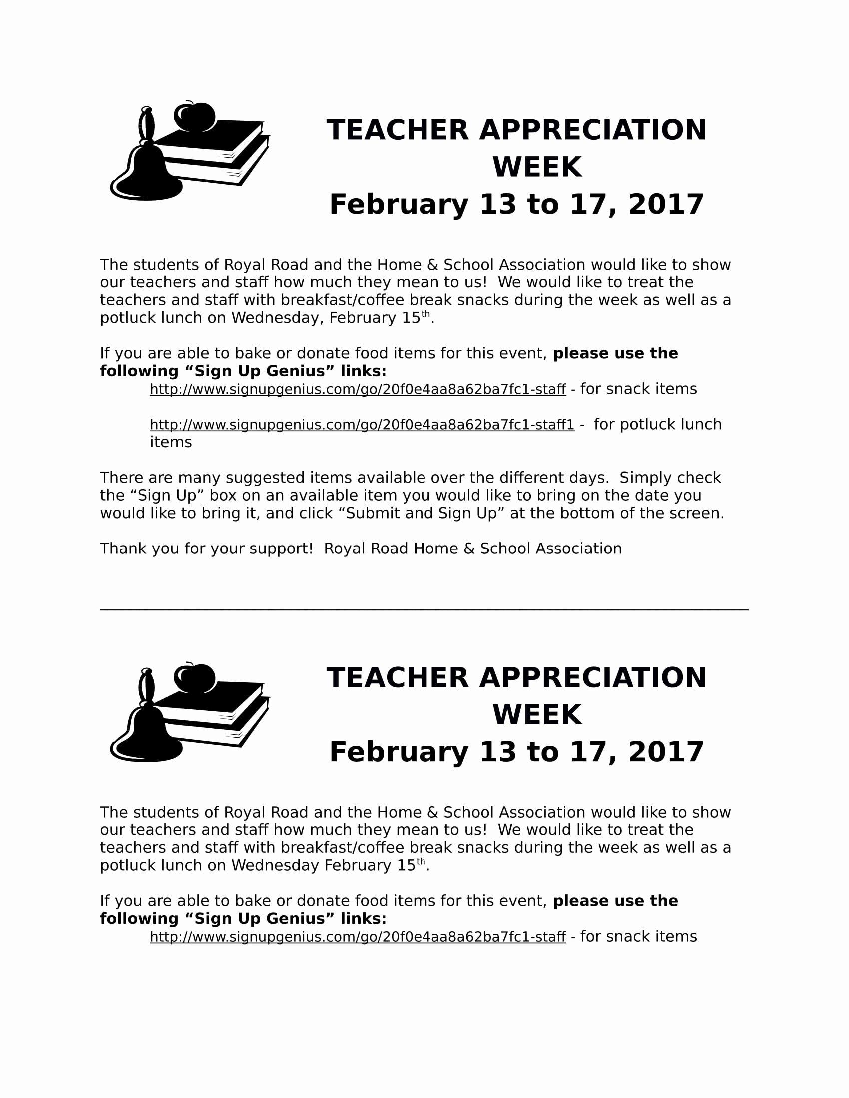 Letter Of Appreciation Templates Inspirational 11 Teacher Appreciation Letter Templates Pdf Doc