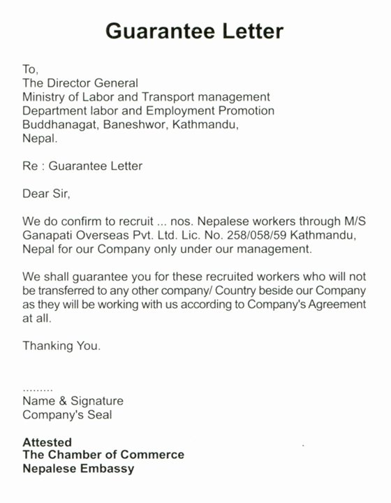 Letter Of Guarantee Template New Dispute Documents Netspend