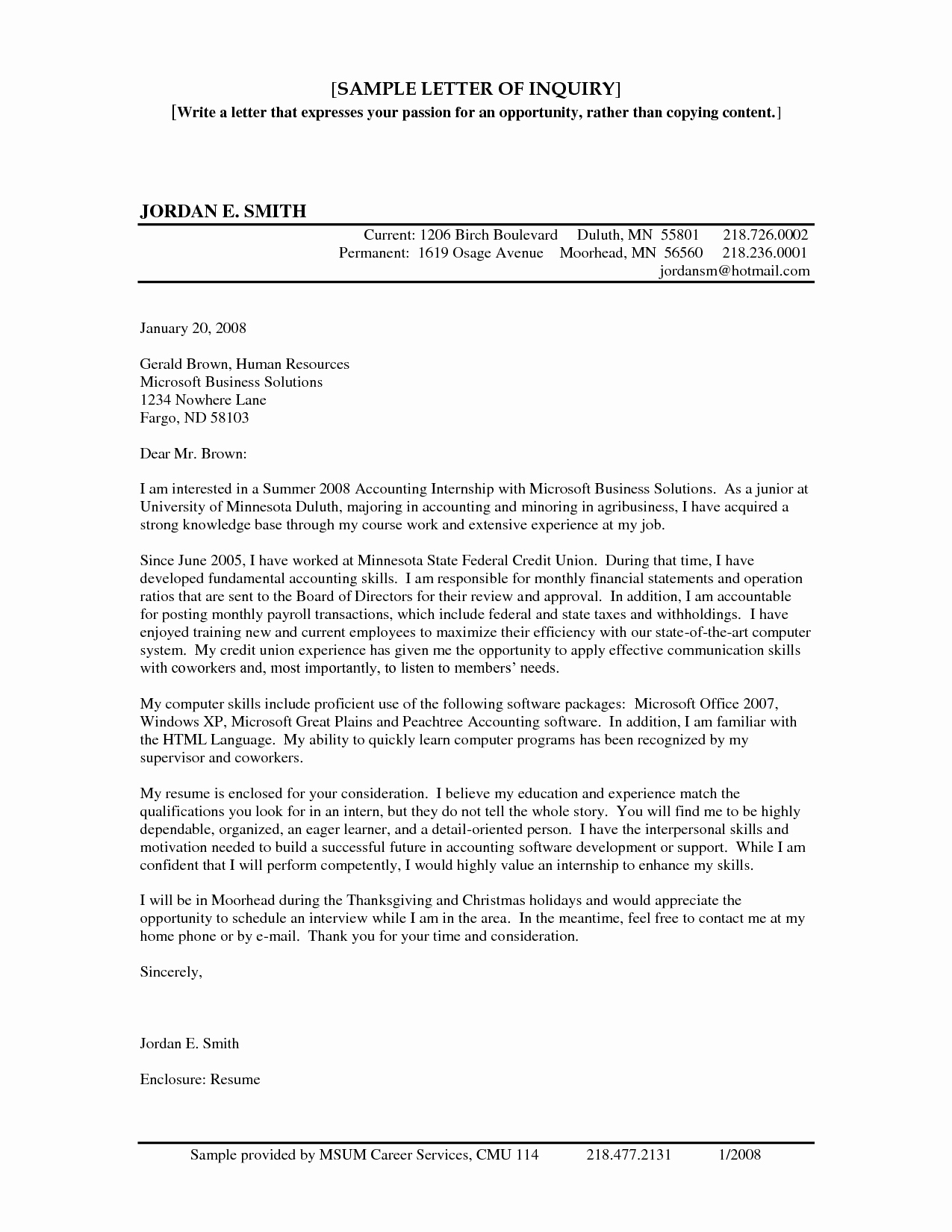 Letter Of Inquiry Template Awesome Best S Of University Templates for Letter Inquiry