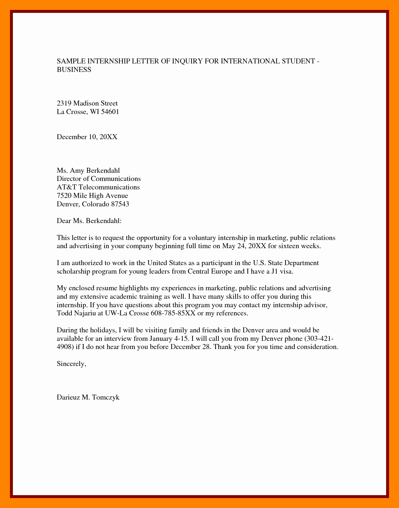 Letter Of Inquiry Template Inspirational 5 Letter Of Inquiry Samples