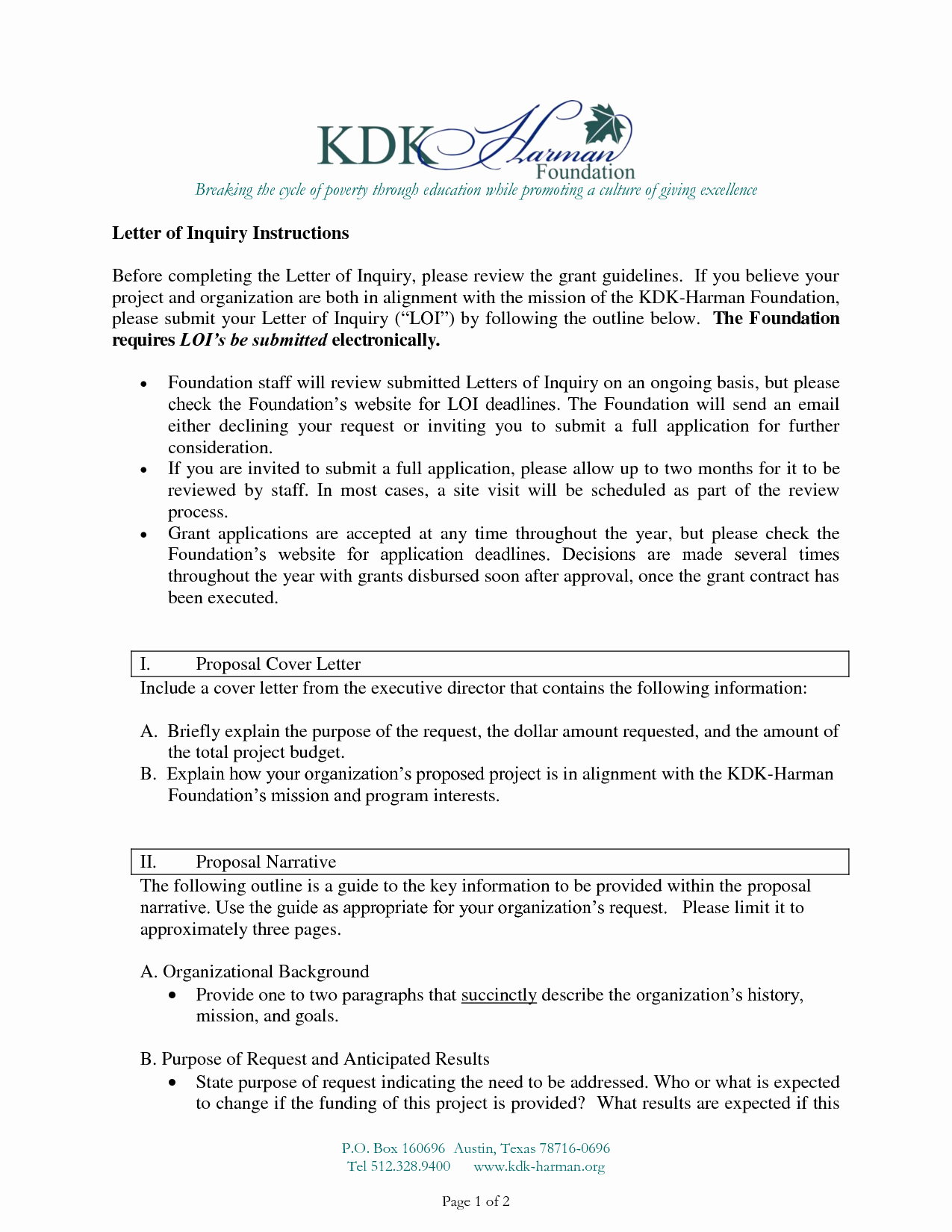 Letter Of Inquiry Template New Best S Of Foundation Letter Inquiry Template