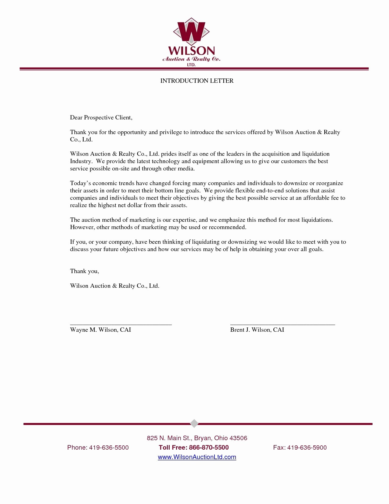 Letter Of Introduction Template Fresh New Pany Introduction Letter