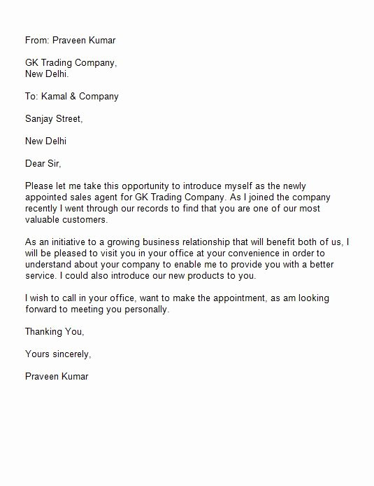 Letter Of Introduction Template Luxury 41 Free Letter Of Introduction Templates & Examples Free