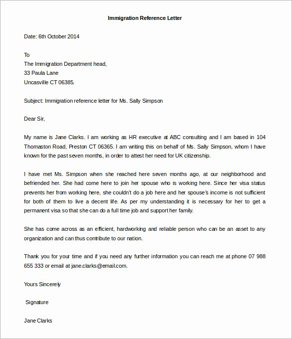 Letter Of Recommendation Templates Word New Free Reference Letter Templates 24 Free Word Pdf