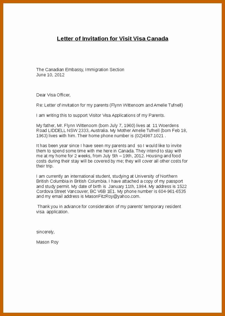 Letter Of Support Template Luxury 5 6 Support Letter Sample for Immigration