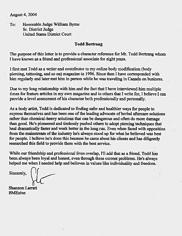 Letter to Court Template Best Of Letters Judges before Sentencing Sample Character Letter