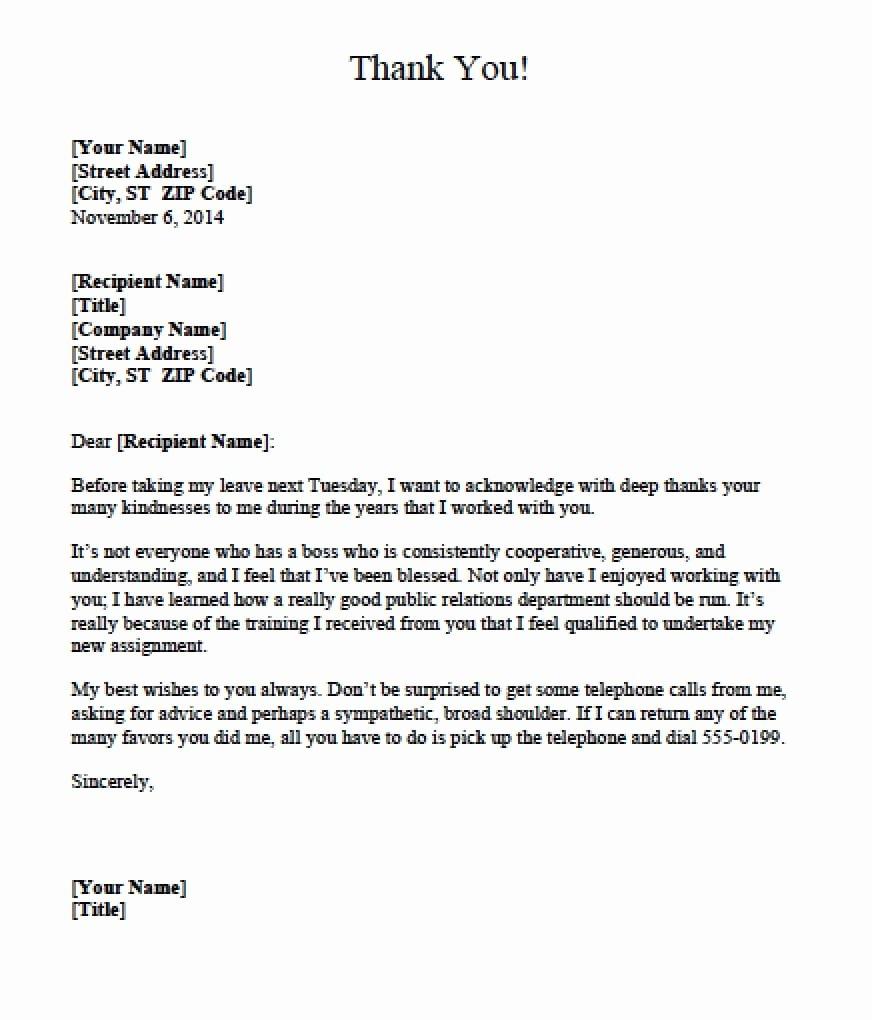 Letters Of Appreciation Templates Fresh 5 Appreciation Letter Templates formats Examples In