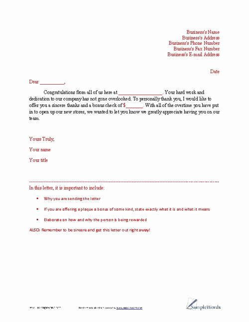 Letters Of Appreciation Templates Inspirational Letter Of Appreciation Sample