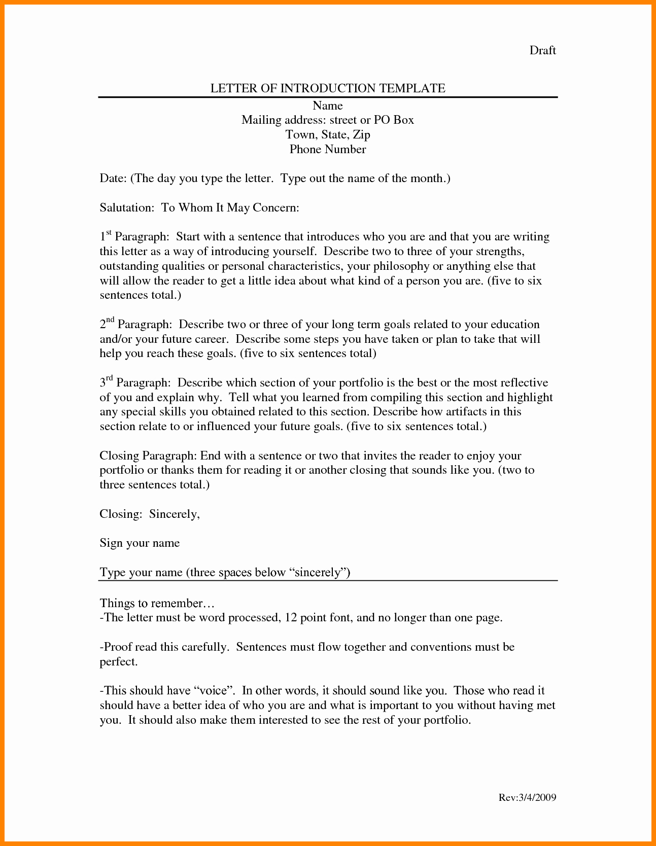 Letters Of Introduction Templates Fresh 9 Introduction Letter to Colleagues