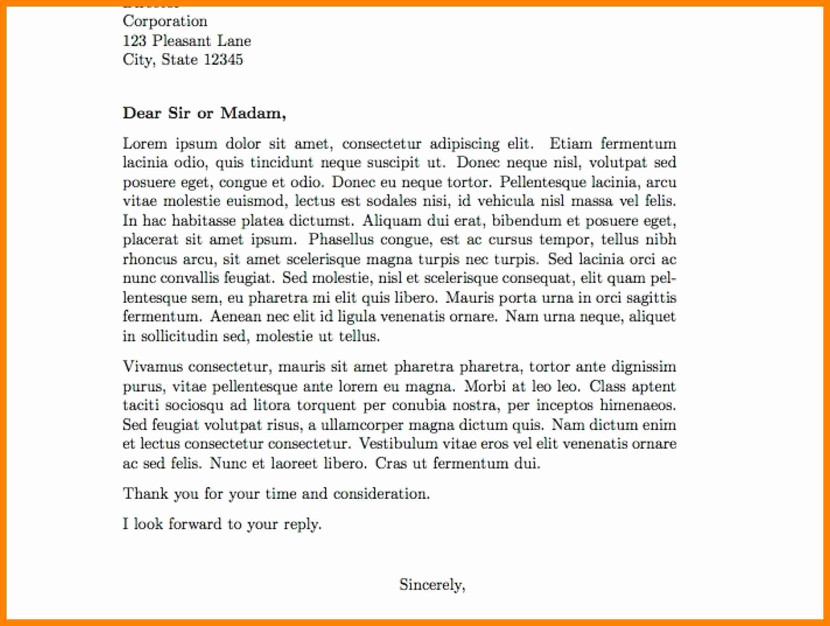 Letters Of Support Template Lovely Mission Trip Support Letter