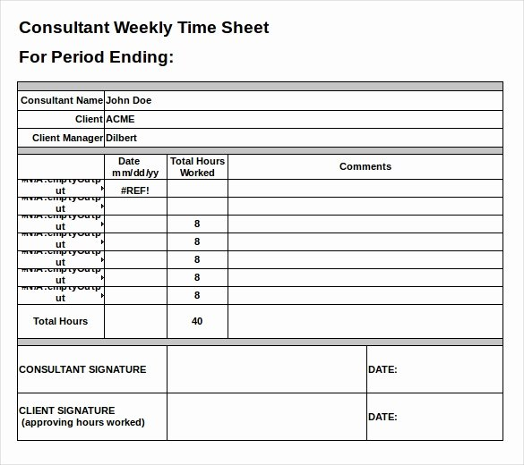 Line Sheet Template Excel Fresh 25 Excel Timesheet Templates – Free Sample Example