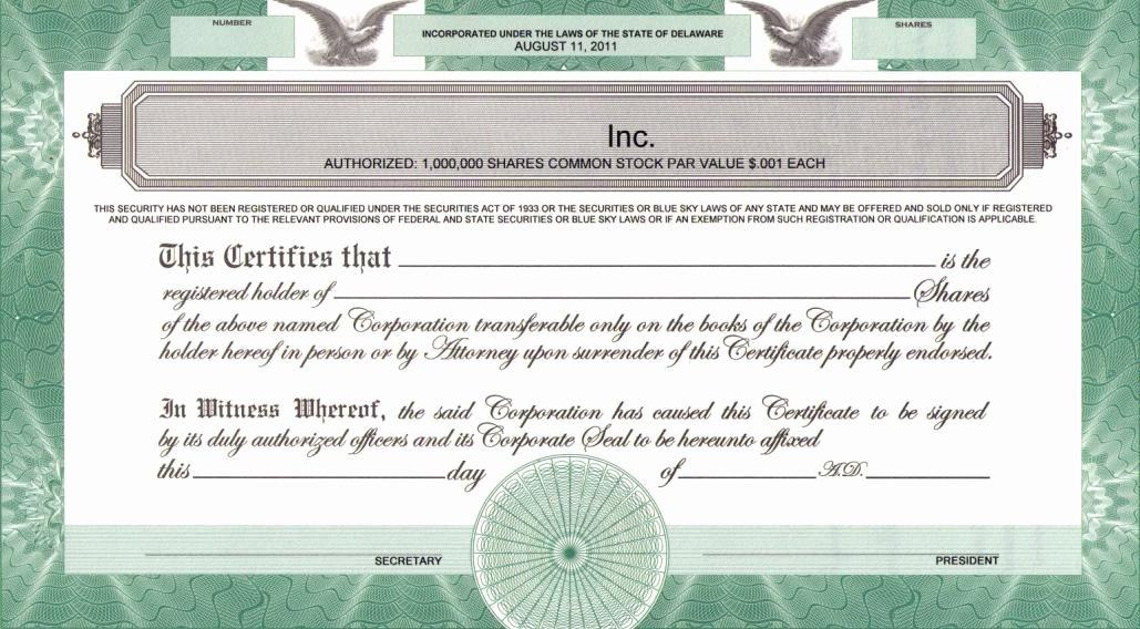 Llc Membership Certificate Template Best Of Printing Legends On Certificates