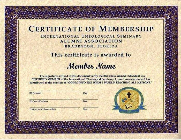 Llc Membership Certificate Template Best Of Purple Certificate Membership Template 700×540