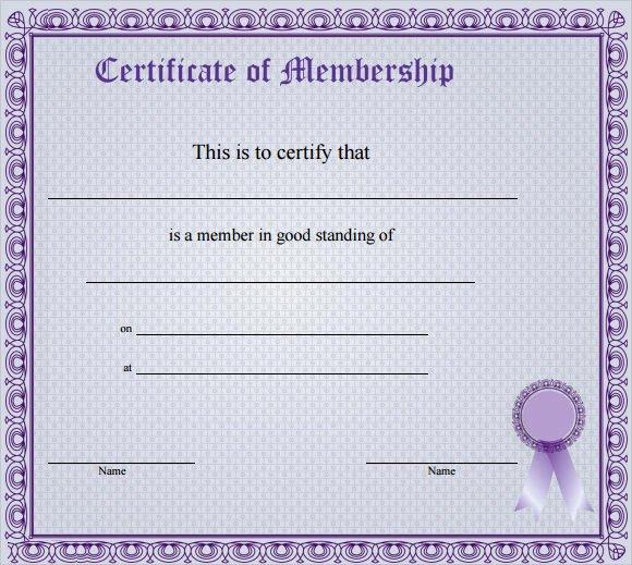 Llc Membership Certificate Template Inspirational Membership Certificate Template 15 Free Sample Example