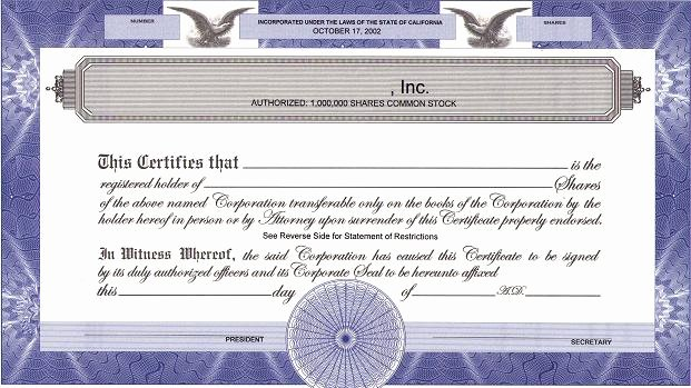 Llc Membership Certificate Template New How Do We issue Corporate S