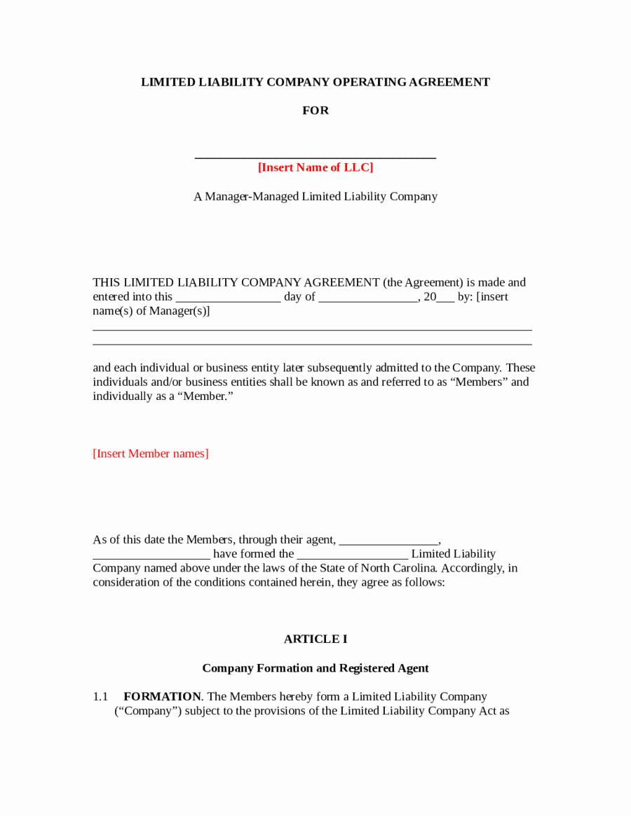Llc Operating Agreement Template Pdf New 2019 Llc Operating Agreement Template Fillable