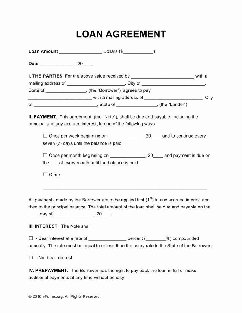 Loan Contract Template Word Elegant 41 Useful Llc Member Loan Agreement Template Lu Z